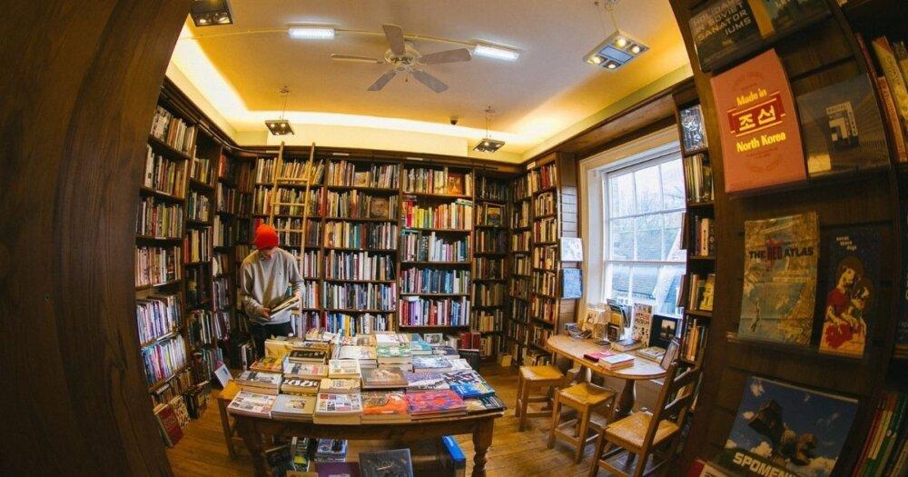 本屋の内部