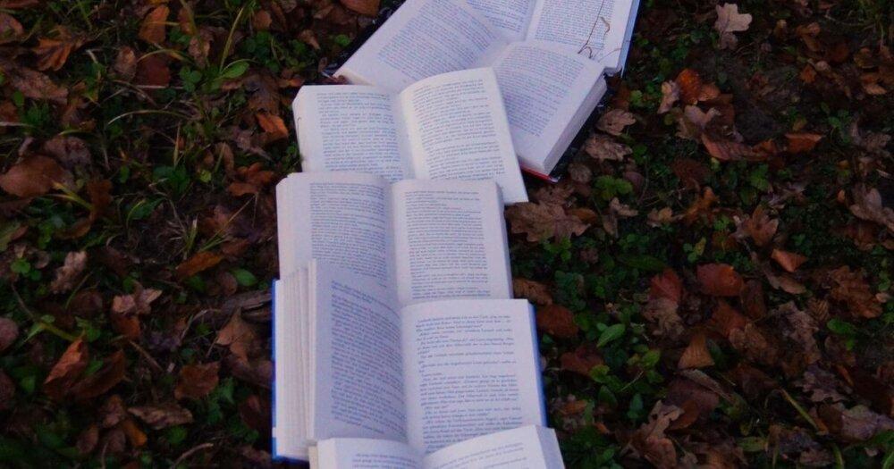 本の連なり