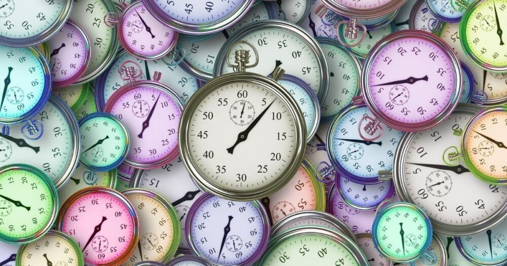たくさんの時計
