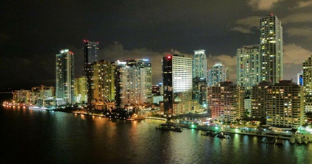 マイアミのビル群