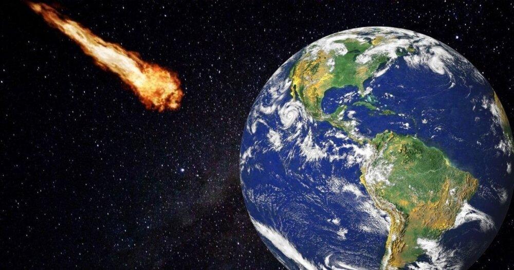 小惑星が地球に衝突する
