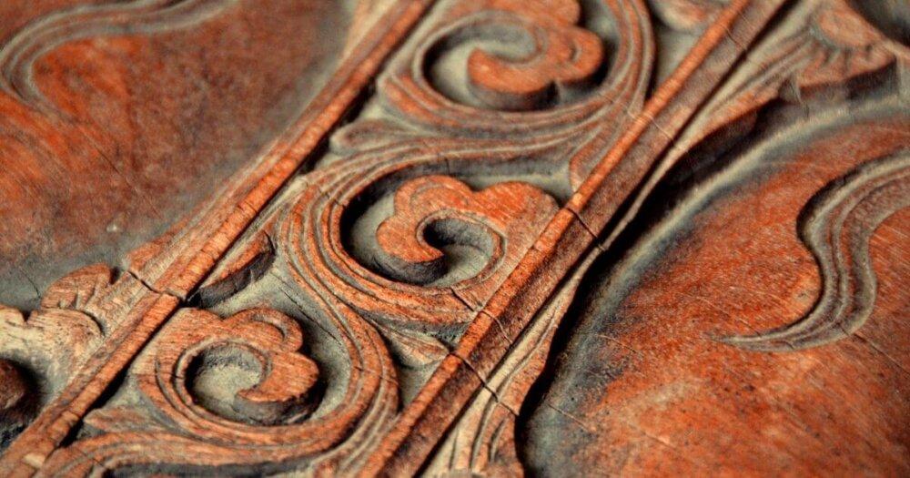 木彫りの作品