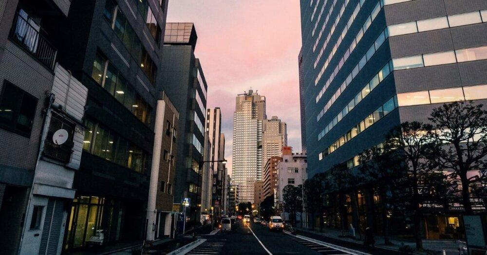 都内の路地